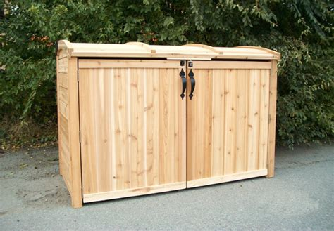 Outdoor Trash Storage Shed by Outdoor Living Today 6x3 Oscar Trash Can Storage Shed
