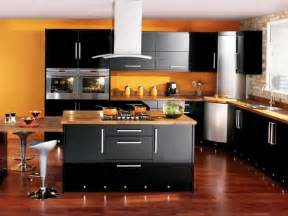 Black Kitchen Decor by 25 Black Kitchen Design Ideas Creating Balanced Interior