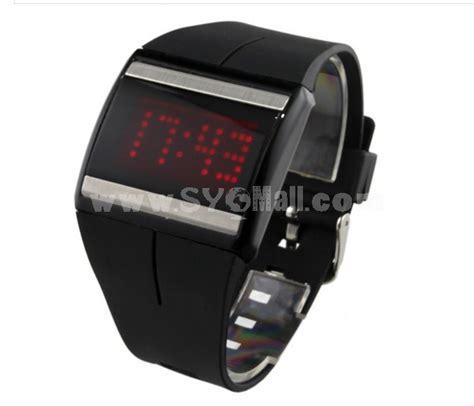 digital mens led light sport wrist sygmall