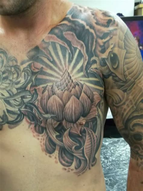 lotus tattoo parlor blue lotus tattoo studio tattd pinterest