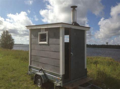 Small Wooden Bench Portable Saunas Keisus Com