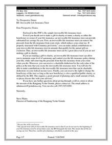 crummey letter template best photos of sle crummey letters payment demand