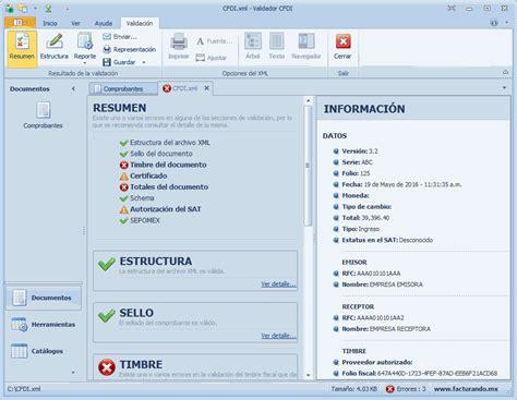 factura electronica web service cfdi pantallas validador de factura electr 243 nica descarga