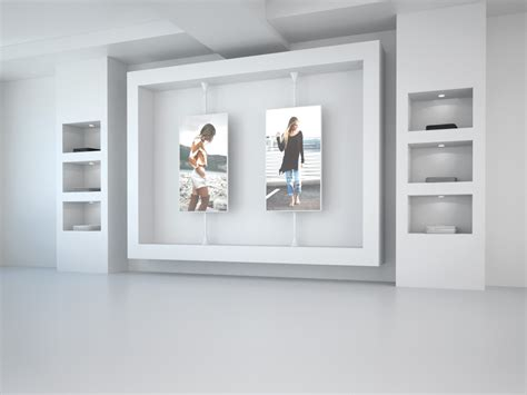 Floor To Ceiling Store by Multibrackets Pro Series Floor To Ceiling Mount Mbfc1u