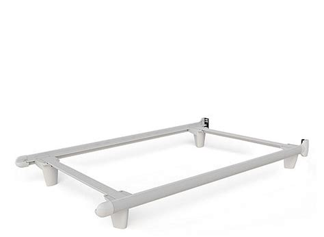 Embrace Twin Bed Frame W Glides White White Raymour Bed Frame Glides