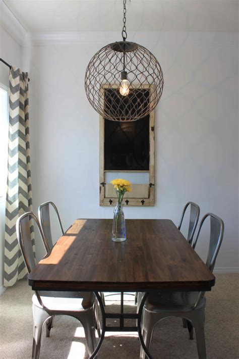 Dining Room Makeover Pictures Dining Room Orb Light