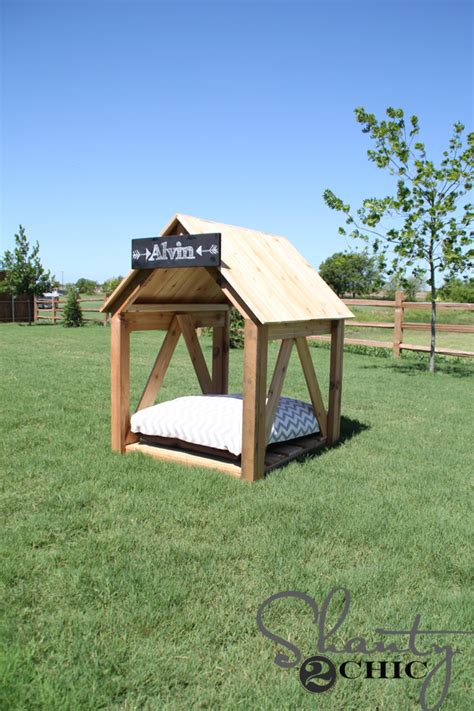 how to build a dog house youtube diy dog house shanty 2 chic