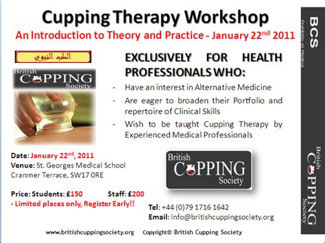 therapy workshops ahealth a cupping therapy workshop for health