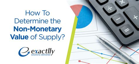 how to determine the non monetary value of supply