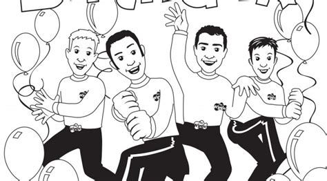 Pin The Wiggles Colouring Pages On Pinterest The Wiggles Colouring Pages