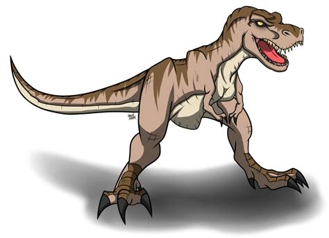 doesn t anyone watch jurassic park carolyn s online tyrannosaurus rex jurassic park by azure arts on deviantart