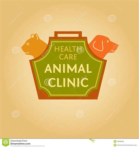 whittier dog cat hospital animal hospital licensed logo with animals for animal clinic health care stock