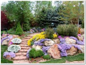 Pictures Of Sloped Backyard Landscaping Ideas 30 Beautiful Rock Garden Design Ideas