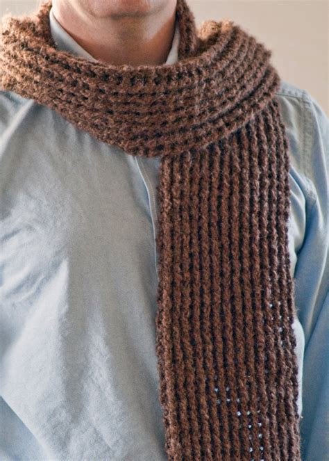 scarf pattern mens crochet scarf pattern diy mens scarf mens