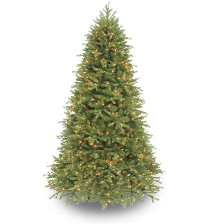 puleo christmas trees puleo international 7 5 pre lit frasier fir premium artificial tree with 800 clear ul
