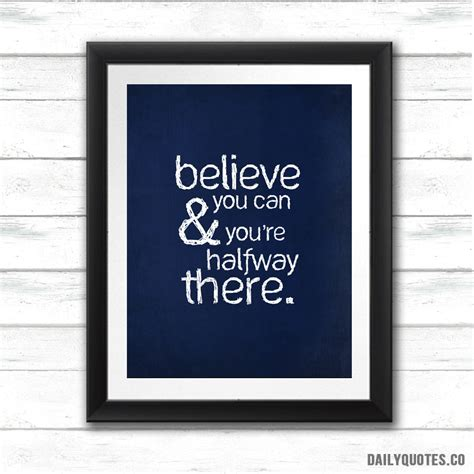 Wood Frame Poster Quotes Edition 05 daily quotes 4 framed canvas print