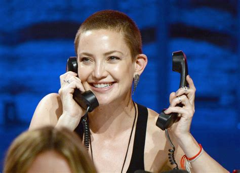 Kate Hudson is rocking a buzzcut; her kids don't think it