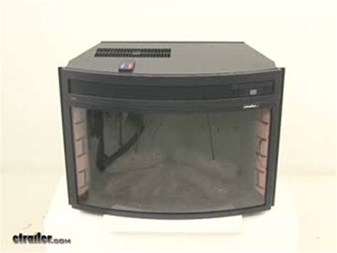 rv electric fireplace insert verve 24 quot curved electric fireplace insert verve rv living