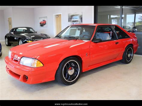 Cobra R Auto by 1993 Ford Mustang Svt Cobra R For Sale In Naples Fl