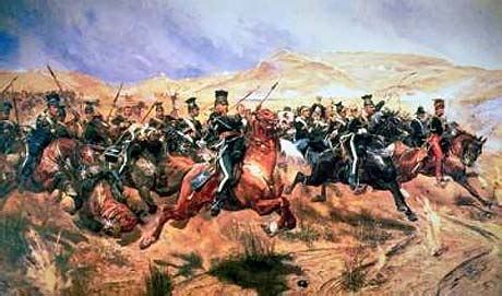 charge of the light brigade charge of the light brigade every leaf
