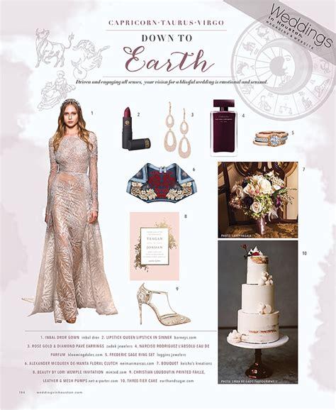 Wedding Zodiac by Zodiac Style Wedding Ideas For Earth Sign Brides