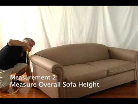 How To Measure For Sofa Slipcovers by How To Measure A Small Sofa For A Slipcover