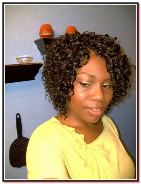 crochet braids on short natural hair short crochet braids hairstyles all about hairstyle and