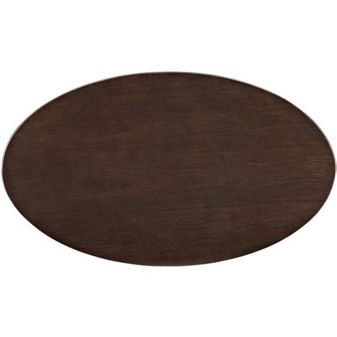 oval shaped dining table designs lippa 48 quot oval shaped walnut dining table modern in designs