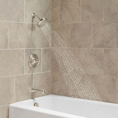 Bathtub Or Shower Which Is Better by Bathroom Faucets For Your Sink Shower And Tub The Home Depot