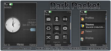 hd themes for x2 nokia x2 02 dark themes images