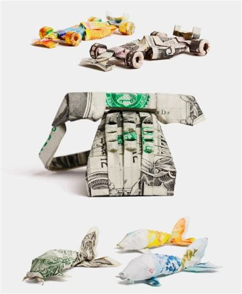 Creative Ways To Fold Paper - money creative ways to fold money