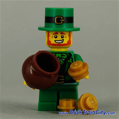 Lego Minifigure Leprechaun leprechaun 8827 lego minifigures series 6 review