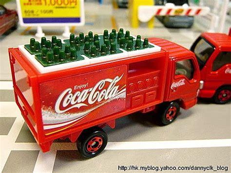 Tomica 105 Coca Cola Route Truck clk s model car collection clk の車天車地 tomica no 105