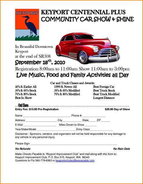 car show flyer template car show flyer template authorization letter pdf