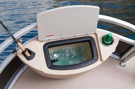 pontoon boat corner livewell pontoon boat storage ideas google search pontoon boats