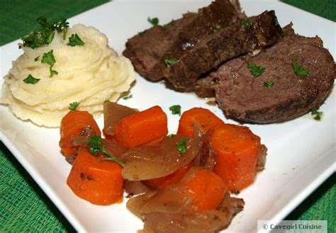 paleo recipes cavegirl cuisine paleo buffalo shoulder roast with black truffle mashed parsnips