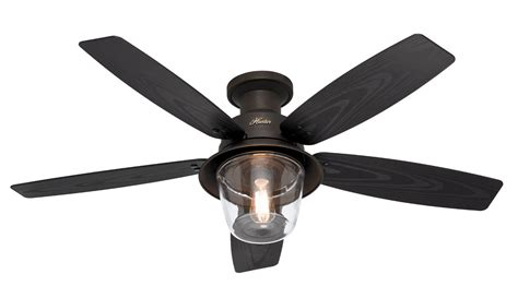 low noise ceiling fans low profile ceiling fans hunter dempsey low profile with