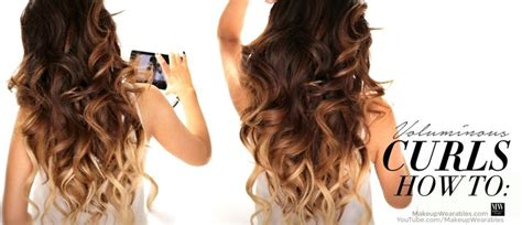 easy hairstyles curling iron hair tutorial how to curl your hair to get big