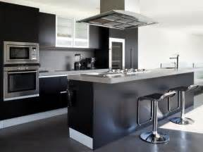 Kitchen Island Black 22 Bold Black Kitchen Design Inspirations Godfather Style
