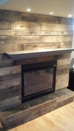ryobi nation pallet board fireplace surround reclaimed