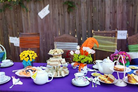 table decoration ideas for parties party table decorating ideas photograph alice in wonderlan