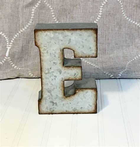 metal letters metal letters metal letter letter e 7 inch letter wall