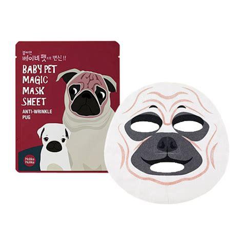 pug care sheet holika holika baby pet magic mask sheet anti wrinkle pug holika holika mask