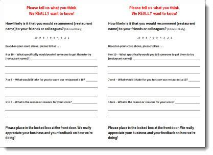 customer comment card restaurant template 24 best comment cards images on customer