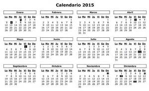 Calendario Laboral 2015 Mexico Calendario 2015 Image King