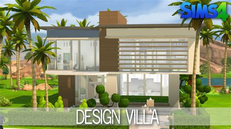 house building design the sims 4 house building design villa speed build youtube loversiq