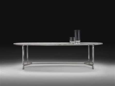 Dining Table Metal Frame Dining Table On Metal Frame Clarke Flexform Luxury
