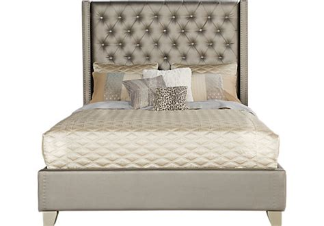 sofia vergara cadence gray 3 pc king bed beds colors