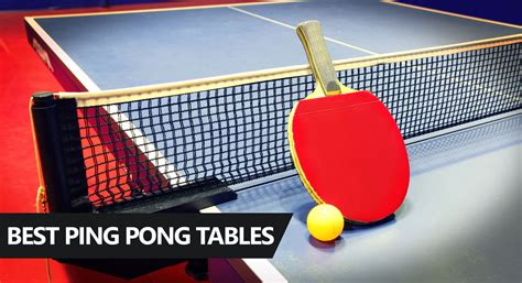 which table tennis table should i buy best ping pong table reviews and buying guide 2018