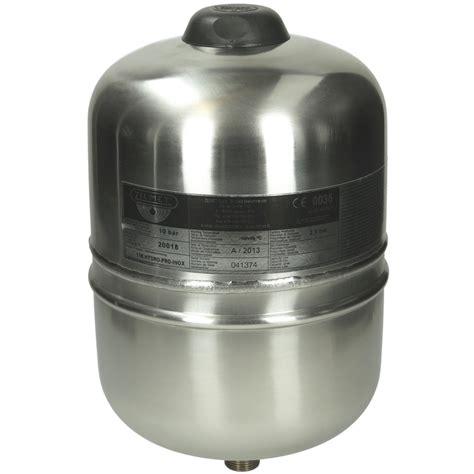 zilmet vasi espansione zilmet expansiedrukvat hydro plus inox 2 liter 1 2